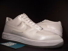 2013 Nike LUNAR AIR FORCE 1 FUSE QS EASTER PEARL WHITE ICE SOLES 614491-100 11