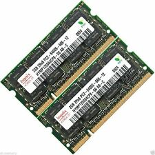 Hynix 4GB 2x2GB DDR2-800 MHZ PC2-6400 6400S Laptop SODIMM Memory RAM 200-pin