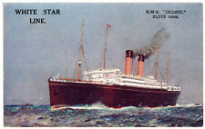 R.M.S. Cedric Post Card TItanic And White Star Line Interest With Free Shipping