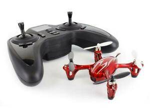 Hubsan X4 (H107C) 4 Channel 2.4GHz RC Quad Copter with Camera - Red/Black #R656