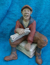 """""""Read All About It"""" John Doty Limited Edition Figurine 1997"""