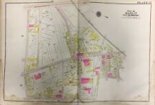 Orig 1906 Gw Bromley Boston, Roxbury, Ma, Samuel W. Mason School, Plat Atlas Map