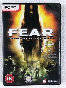 F.E.A.R. First Encounter Assault Recon - Windows PC - Complete - Sierra