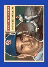1956 Topps Set Break # 5 - Ted Williams EX-EXMINT (white back) *GMCARDS*