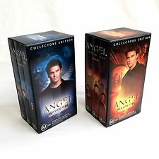 ANGEL VHS Collectors Edition Box Set Season 1 Part 1 and 2