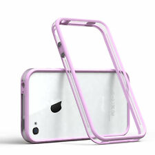 Bumper für Apple iPhone 4 / 4S Case Wallet Schutz Hülle Cover Rosa