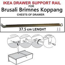 IKEA drawer support rail  Brusali Brimnes Koppang series chests of drawer 37.5cm