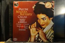 Puccini - Madama Butterfly / Callas/Karajan    2 LP-Box