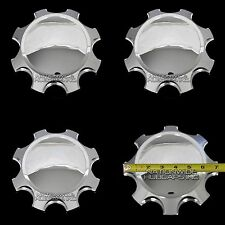 "11-16 Chevy GMC 18"" 20"" Chrome Wheel Center Hub Caps 8 Lug Alloy Rim Cover Hubs"