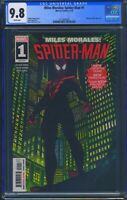 Miles Morales Spider-Man 1 (Marvel) CGC 9.8 White Pages