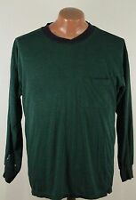 Vtg Jockey 90s Thin Soft T Shirt - Long Sleeve 50 50 Pocket - Men's XL Trashed