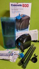 Penn Plax Cascade 600 Submersible Aquarium Filter, 50 Gallon, 175 GPH, OPEN BOX