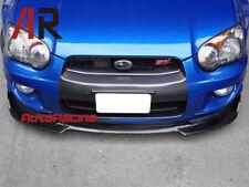 Carbon Fiber DP Style Front Bumper Add On Lip For Subaru 2003-2005 WRX STI GDB