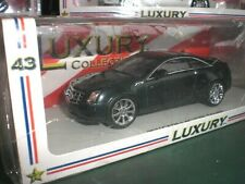 Spark Luxury LC 101140 - 2011 Cadillac CTS Coupe Thunder Grey - 1:43 China