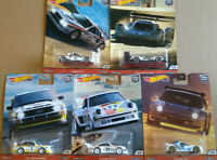 Hot Wheels Car Culture Thrill Climbers Porsche Audi Volkswagen  lot de 5 (NG151)