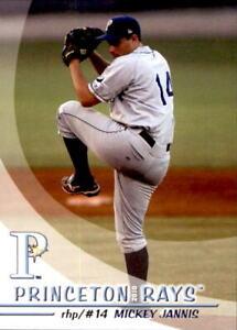2010 Princeton Rays Grandstand #14 Mickey Jannis Sparks Nevada NV Baseball Card