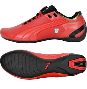 Puma Future Cat M2 Sf Men's Ferrari Leather Sneakers Shoes F1 Red/Black/Gold