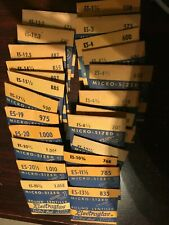 Vintage NOS Electroglas Watch Crystals ES 1-1/2 to ES 20-3/4 Discount on 2nd 3rd