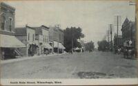 1910 Postcard: Main Street - Winnebago, Minnesota MN Minn