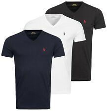 Polo Ralph Lauren T-Shirt Herren Basic Shirt V-Neck Men's Classic Tee NEU