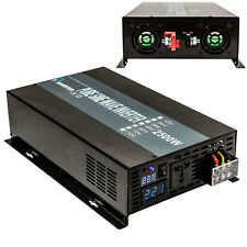 Pure Sine Wave Power Inverter 2500W DC to AC Inverter 12/24/48V to 120/220V