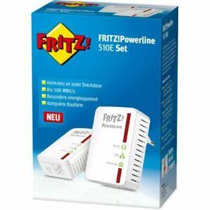 AVM FRITZ!Powerline 510E Netzwerk-Adapter Starter Kit (20002575)(1)