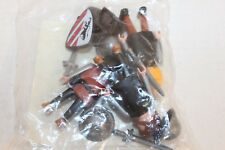 Playmobil 7664 Black Lion Knights 3 Figures w/ Acc New Unopened Add-on