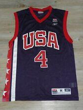USA Basketball Allen Iverson #4 NBA Basketball Reebok Trikot Jersey M L