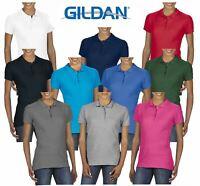 Ladies Women's Gildan Polo Shirt SoftStyle® Double Pique Polo Shirt Super Soft