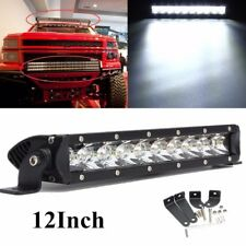 "12"" inch 50W LED Work Light Bar Spot Slim Lamp Off-road Lamp Jeep Boat 12V 24V"
