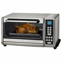 Cuisinart Toaster Oven Broiler Brushed Stainless - Factory Refurbished