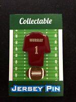 Arizona Cardinals Kyler Murray jersey lapel pin-Collectible-4 caps-Rising STAR