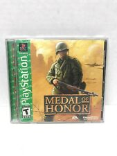 Medal of Honor (Sony PlayStation 1, 1999) PS1 Complete Fast Free Shipping