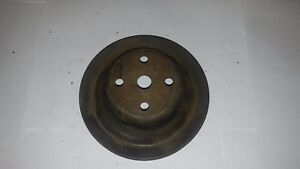 69-71 CHEVROLET K10 WATER PUMP PULLEY GM 3395631 AO SBC BBC FACTORY ORIGINAL GM