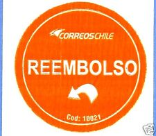 CHILE, OFFICIAL CORREOSCHILE UNUSED POSTAL STICKER # 01