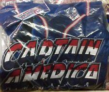 Captain America - New Retro Baseball Jersey Marvel Medium 2002 Rare L@@K