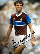 Alvin Martin-West Ham LEGEND-mozzafiato firmato Fotografia a colori