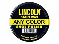 Lincoln Stain Wax Shoe Polish 2-1/8 Oz. - ANY COLOR