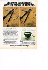 PUBLICITE ADVERTISING  054  1978  BOSCH  outillage  scie sauteuse