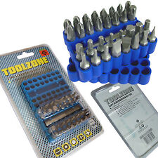 Screwdriver Bit Set Torx Cross Head Slotted Philips Hex Power Driver Screw Gun