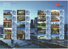 """LS86 Australia 2013 """"G'day from"""" Royal Mail Smilers Sheet"""