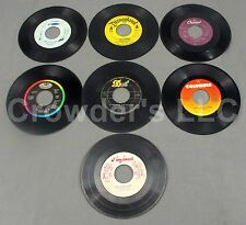 "Lot of 7 7"" 45 RPM Double Sided Singles Puff, Magic Dragon Dr Hook Mary Poppins"