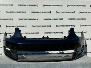 VW NEW BEETLE SE 2013-2019 FRONT BUMPER IN BLACK WITH UNDER TRAY GENUINE [V978]