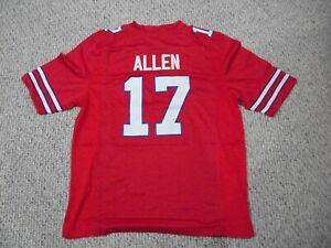 JOSH ALLEN Unsigned Custom Buffalo Red Sewn New Football Jersey Sizes S-3XL
