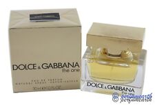 D&G The One By Dolce & Gabbana For Women 1.0 oz Eau de Parfum Spray New in Box