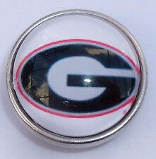 Fits Ginger Snaps Georgia Bulldogs Snap College Jewelry 18mm University Bracelet