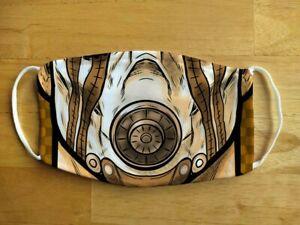 Face Mask Funny Borderlands Psycho Gamer Reusable Protection Face Cover UK