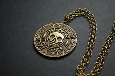 Pirates of the Caribbean coin necklace kitsch vintage