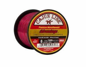 Cajun Red Advantage Fishing Line 1/4lb Spool