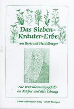 DAS SIEBEN-KRÄUTER-ERBE - Bertrand Heidelberger BUCH - NEU